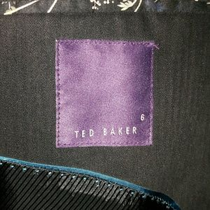 Ted Baker London Suits & Blazers - Ted Baker London mens Blazer 44R navy blue cotton